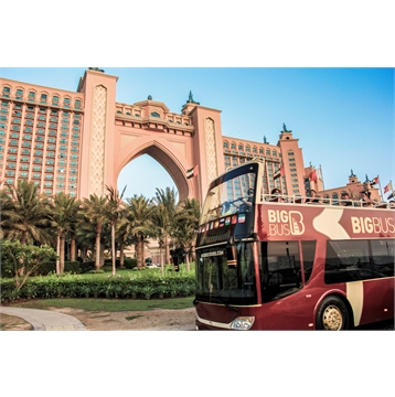50% off Hop-on Hop-off + Desert Sunset Tour Combo