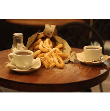 Save 17% on regular priced Hot Chocolate with Churros
