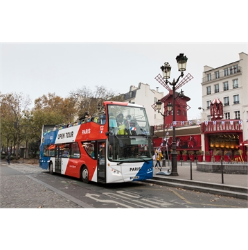 Save 15% on Open Tour Paris bus passes