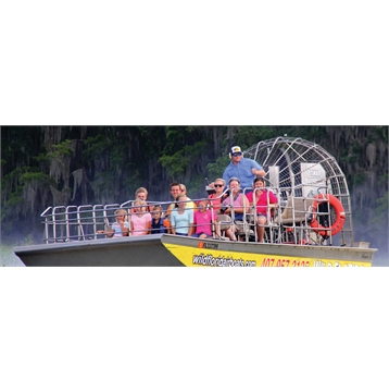 Save 20% on All 1-Hour Airboat Tour & Gator Park Combo Tickets