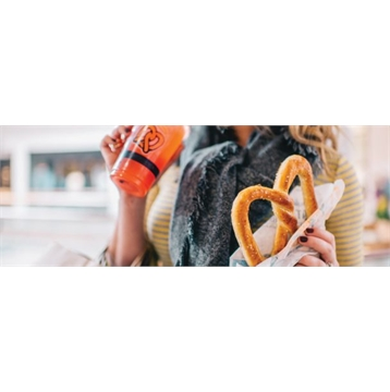 Buy Any Two Pretzels, Get One Classic Pretzel Free