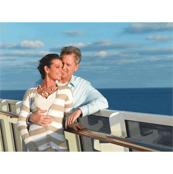 Spending credit of up to $600 per stateroom on select departures